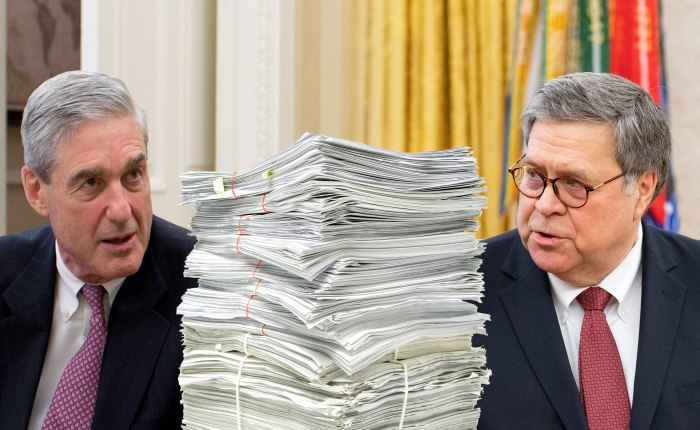 William Barr Should Almost Certainly NOT Release The Entire Mueller Report