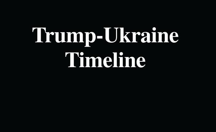 Definitive Timeline of Trump-UkraineEvents